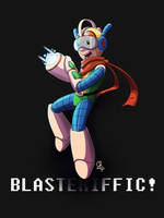 Blasteriffic! [Bravoman] by StinaSketchbook