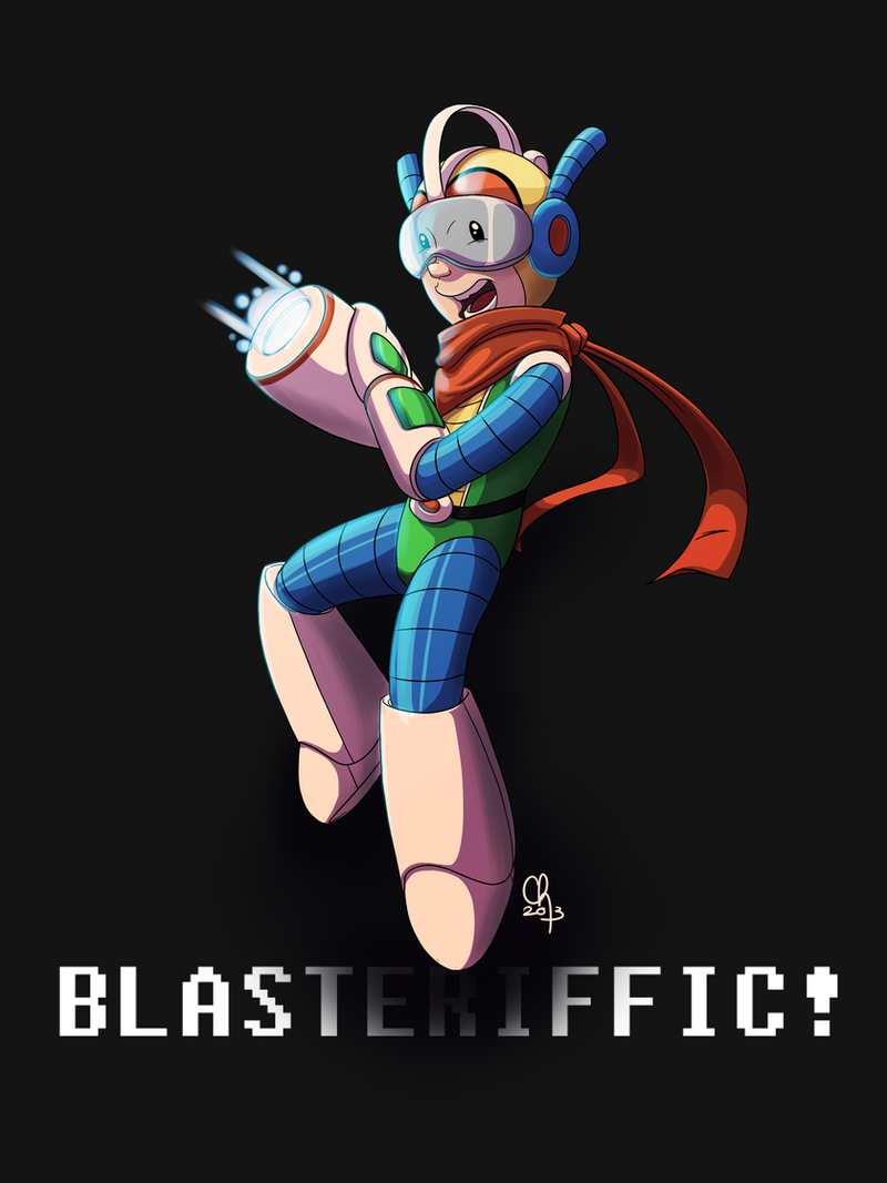 Blasteriffic! [Bravoman] by stinawo