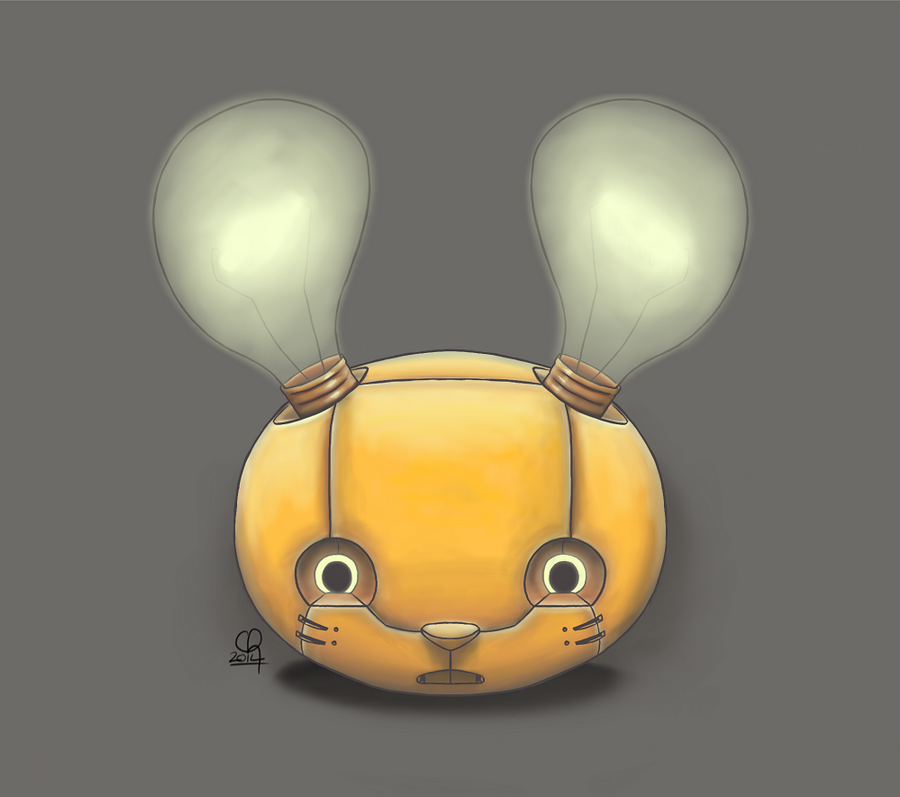Bunny Bot Head :: 3.0 by stinawo