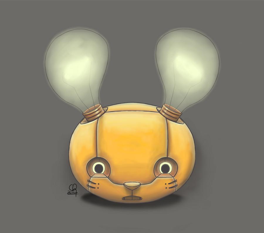 Bunny Bot Head :: 3.0 by stinawo
