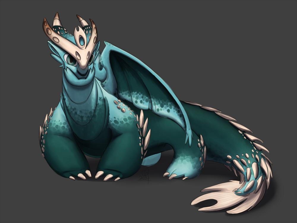 Dragon Mash Up by stinawo