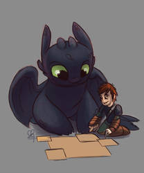 HTTYD [SKETCH] :: All Mapped Out