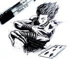 Hisoka drawing