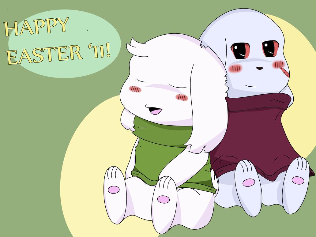 A Mimiga Easter by Isaacian27