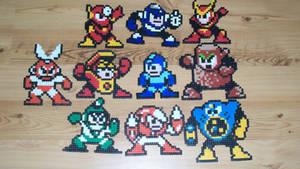 Megaman Bead Sprites