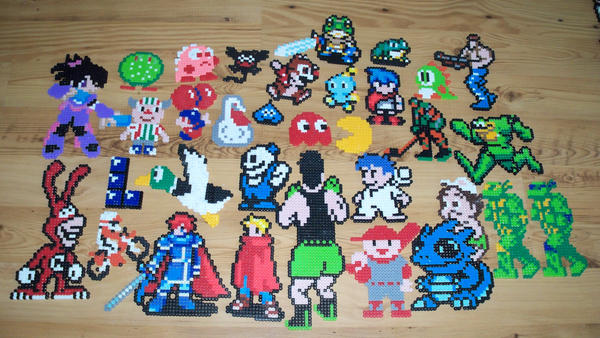 Miscellaneous Bead Sprites by gfroggy87