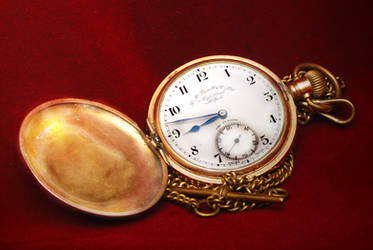 pocket watch by MagicPeter