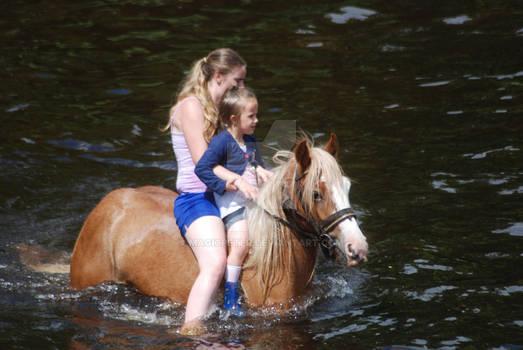 Washing The Horses 16