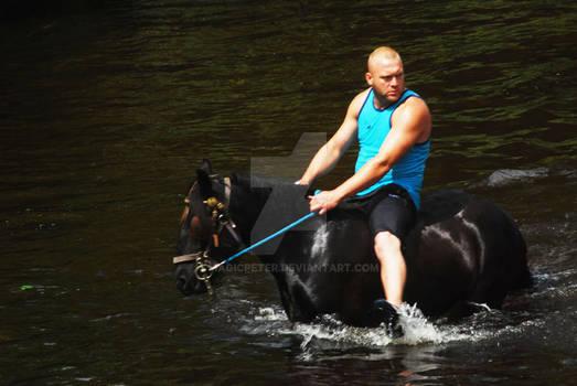 Washing The Horses 17