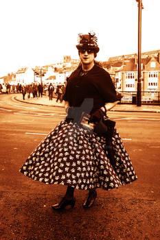 Billowing skirt