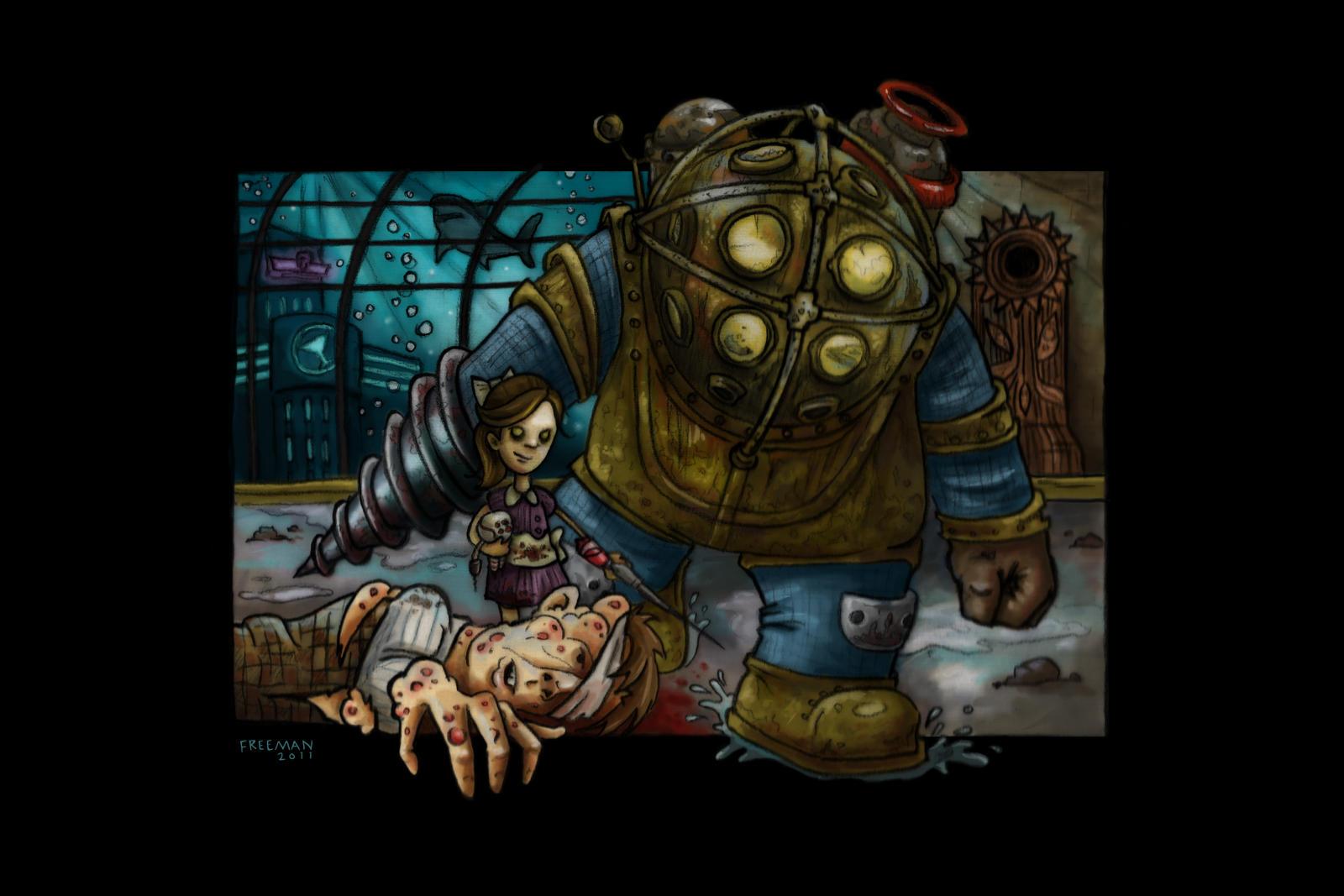 Bioshock by huskertim27