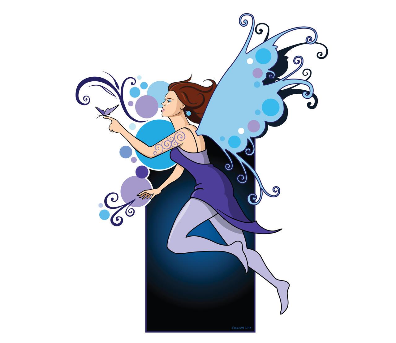Blue Fairy by huskertim27