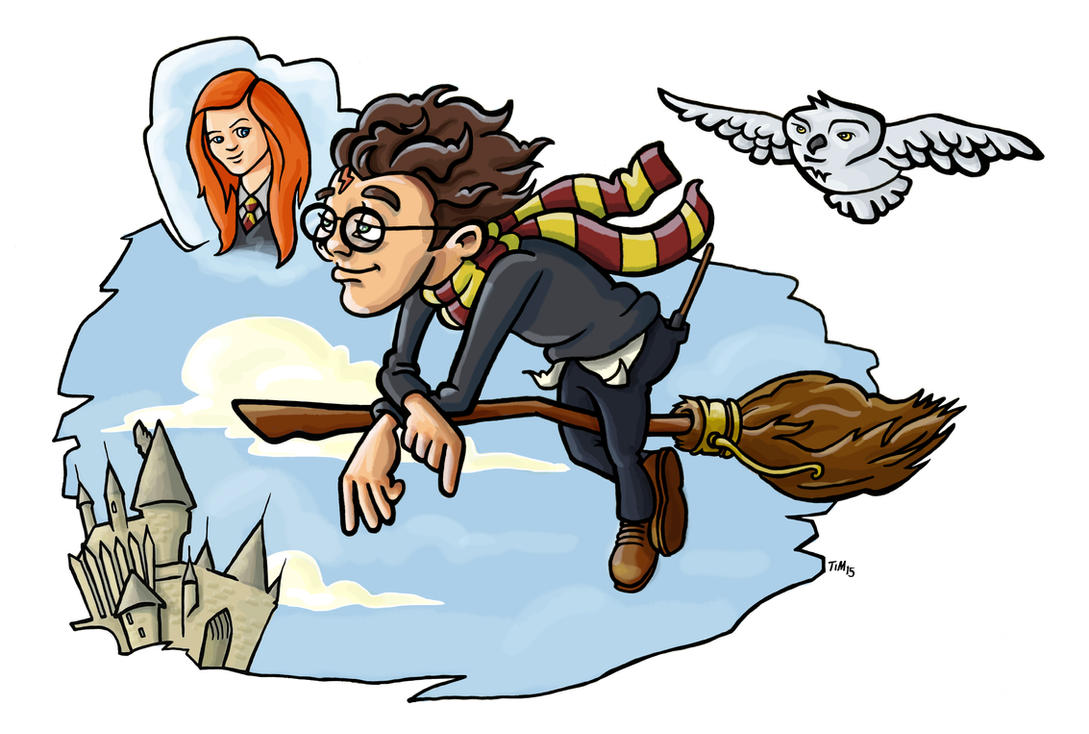 Daydreams of Ginny by huskertim27