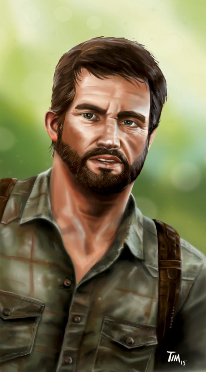 Joel - The Last of Us by huskertim27