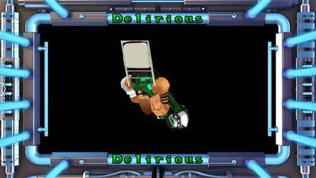 Getamped 2 Skin: Delirious the Wrestler