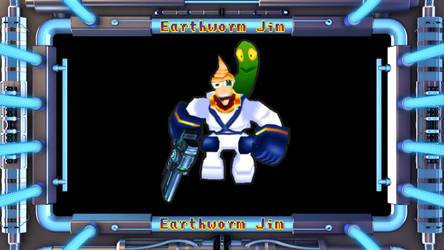 Getamped 2 Skin: Earthworm Jim