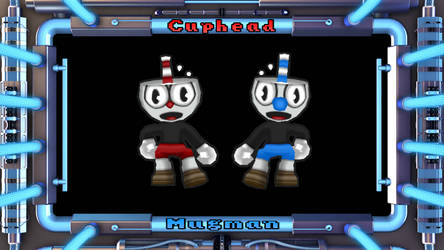 Getamped 2 Skin: Cuphead and Mugman ( Cuphead )