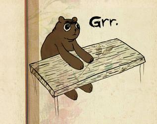 Bear Goes Grr