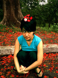 wiji and the flower