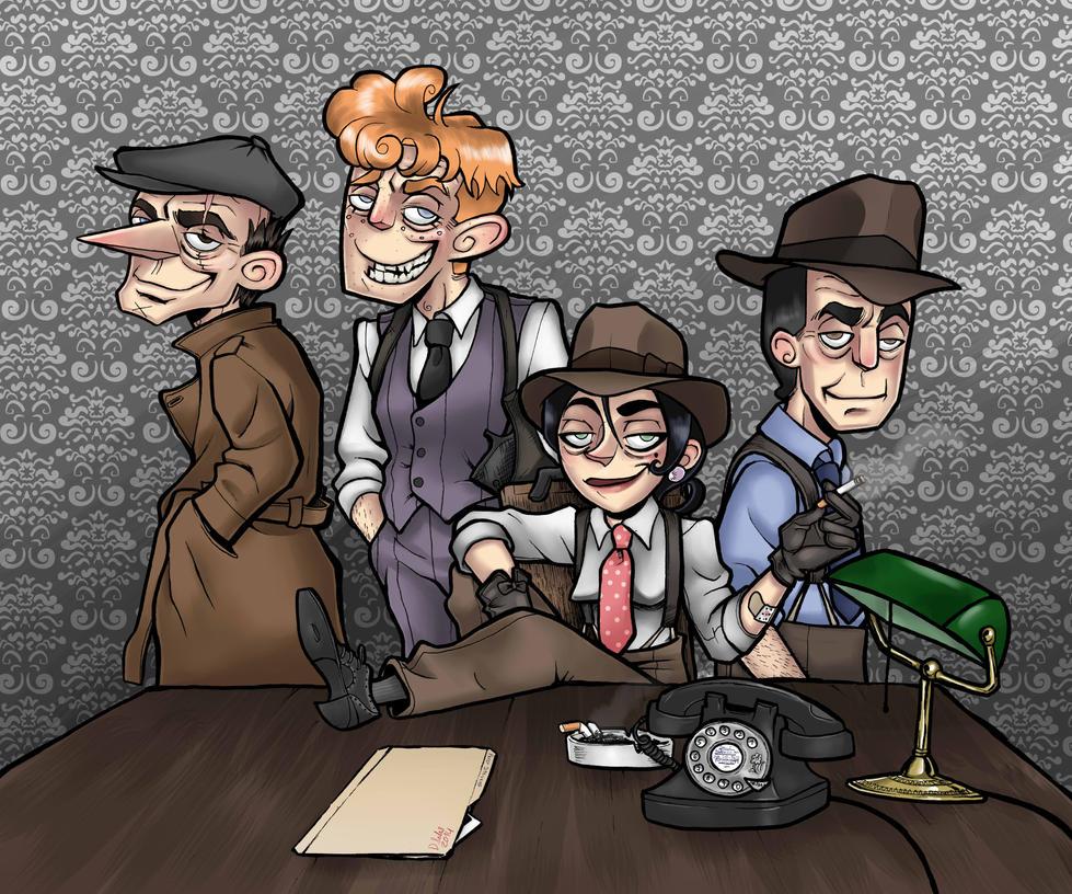 Meet the Gang by JammerLammy