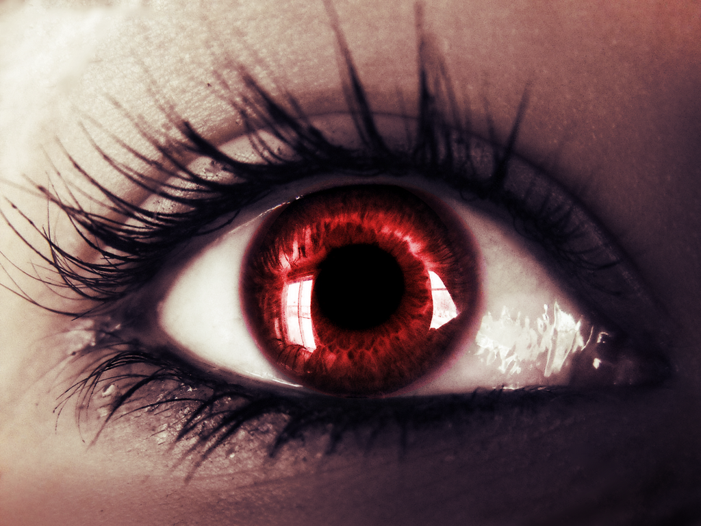 Adult fanfiction story blood red eyes