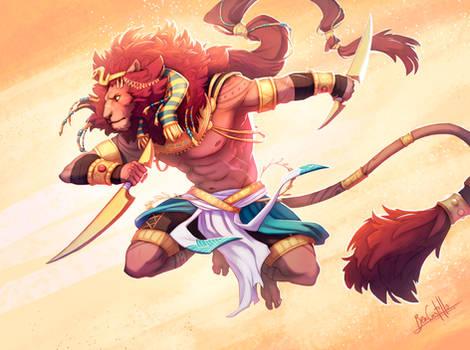 Egyptian God - Maahes