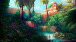 Jungle background by beacascabel