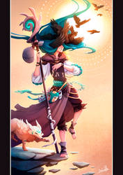 Tarot - The Fool by beacascabel
