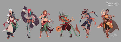 Color Test Lineup by beacascabel
