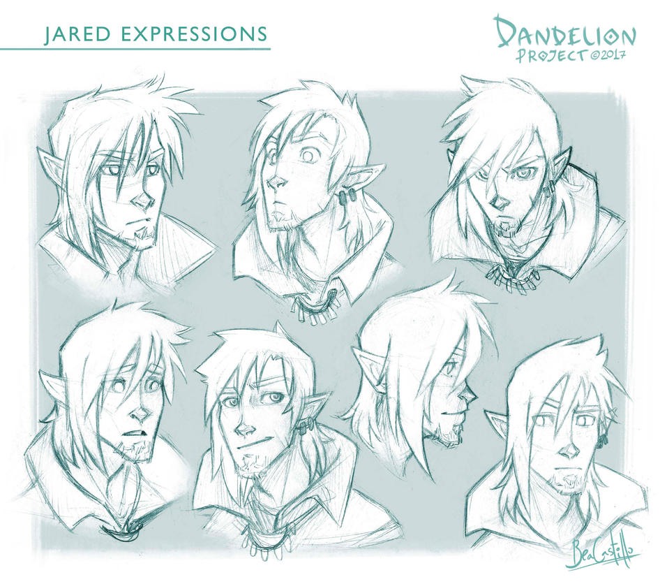Jared expressions by beacascabel