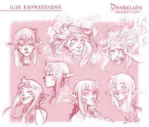 Ilse expressions by beacascabel