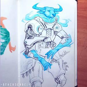 [Creatuanary] Futuristic Bull