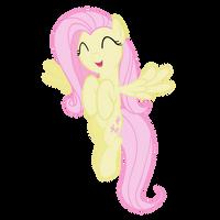 Fluttershy happy by lolke12