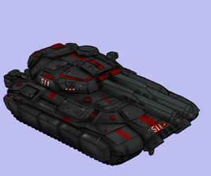 Scorpion Heavy Tank by Lichen93