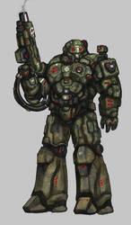 Power Armor Marine by Lichen93