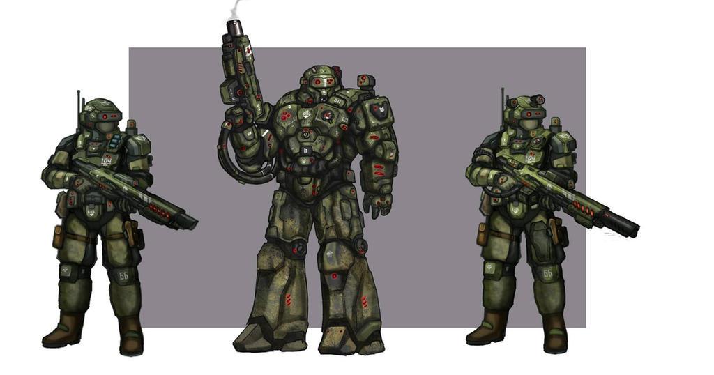 Marine corps by Lichen93