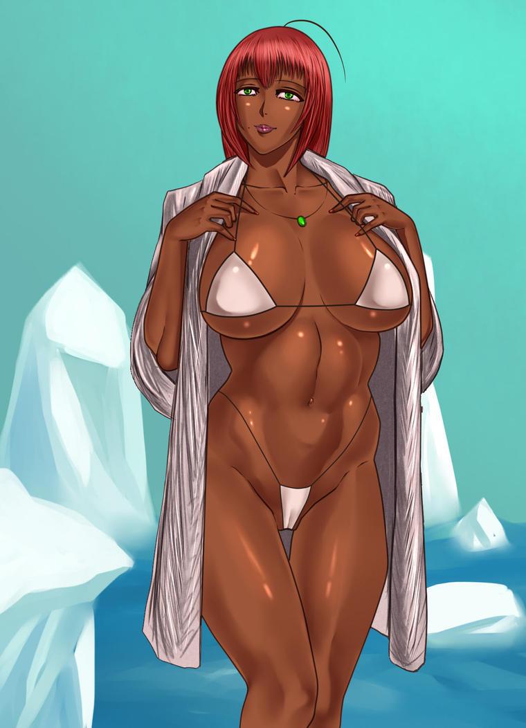 Winter Swim with Luna Remake by Lichen93