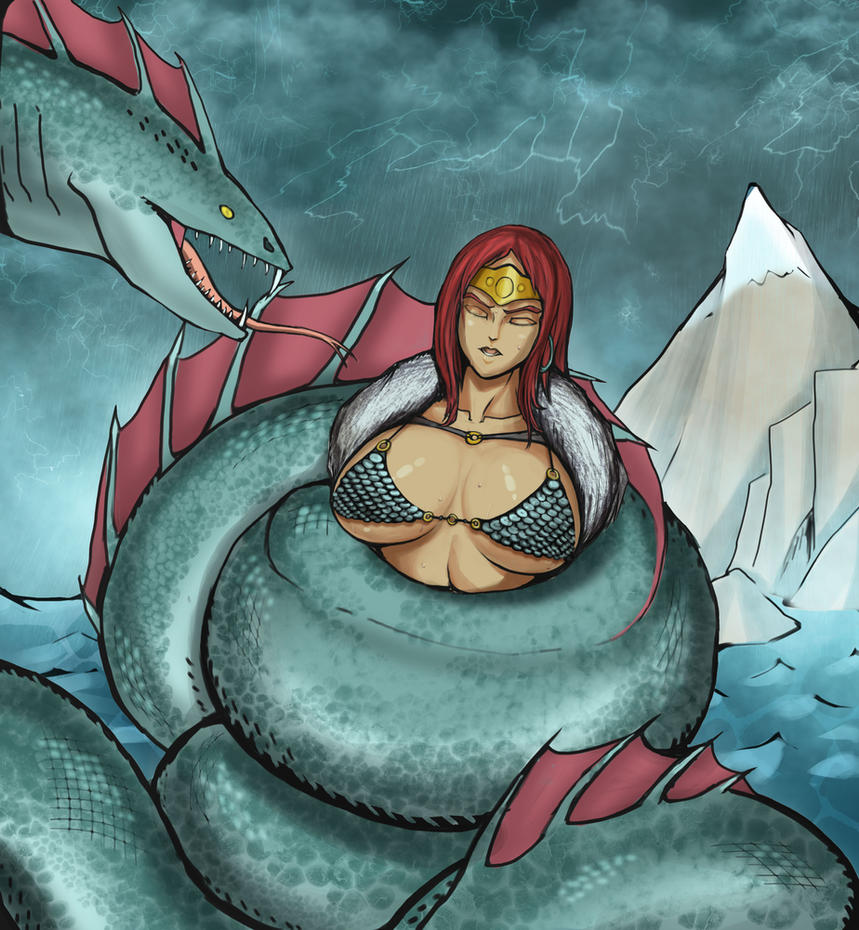 Red sonja's fate by Lichen93