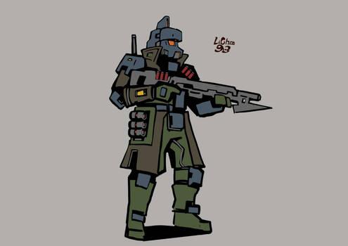 Imperial Legion Combat Grenadier
