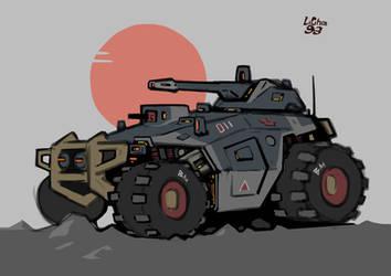 Imperial [Prowler] Combat Patrol Tank