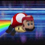 Super Nyan Mario by MovieMowDown