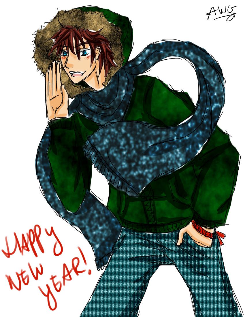 HAPPY NEW YEAR by animemanda