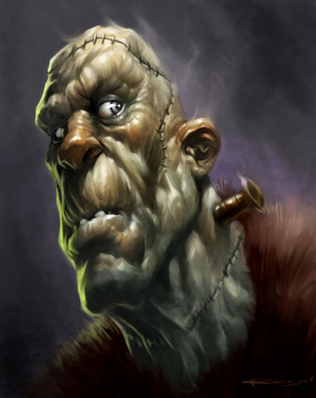 Frankenstein by PReilly