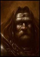 Barbarian King by PReilly
