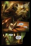 Aladdin comic page sample