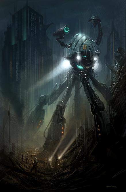 The Machine by PReilly