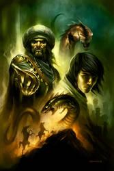 Aladdin by PReilly