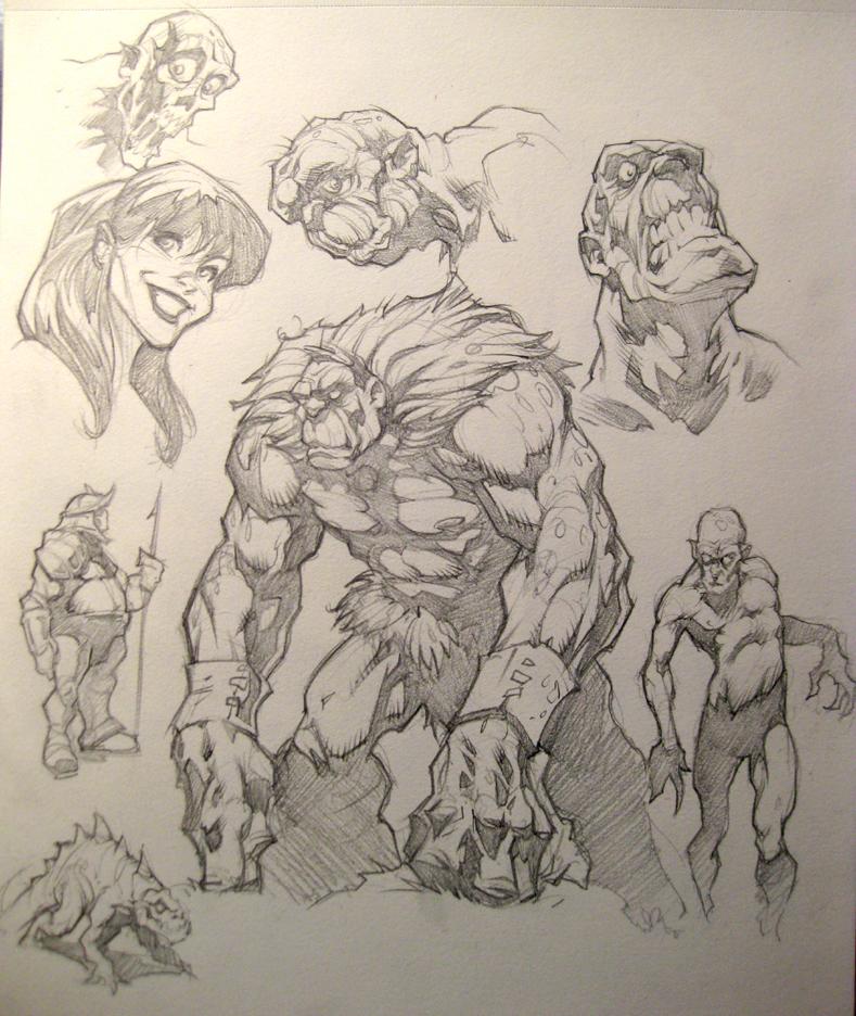 Pencil Sketches by PReilly