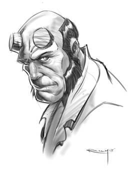 Hellboy Sketchs