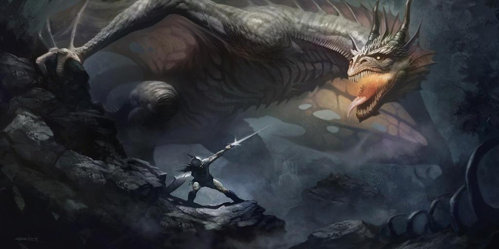 Image result for dragonslayer art